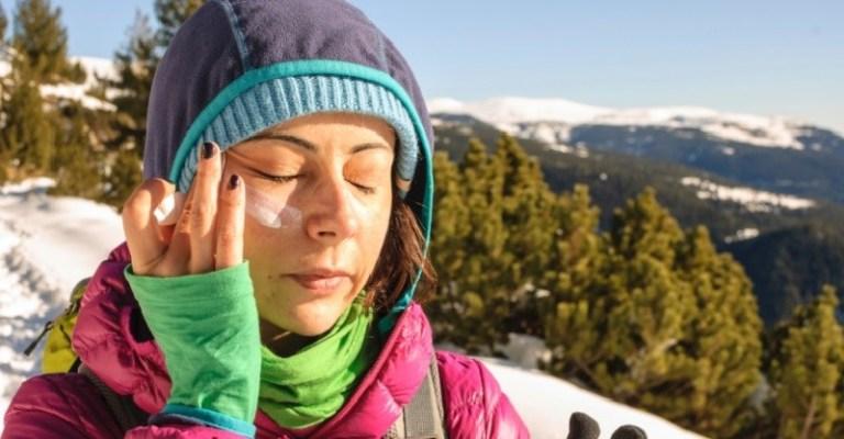 Protetor solar, pega bem no inverno e no verão!